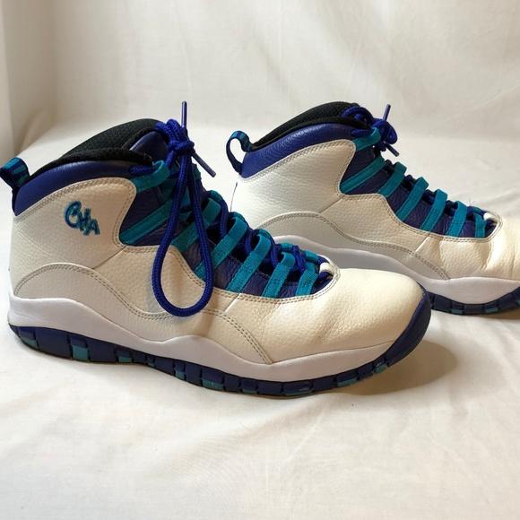"""a655e85085763a Jordan Other - Air Jordan 10 """"Charlotte Hornets"""" City Pack"""